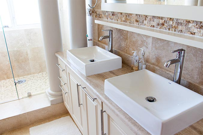 Dual Sink Installation from Bathroom Remodeling Contractor | Sunset Coast Construction Services, LLC