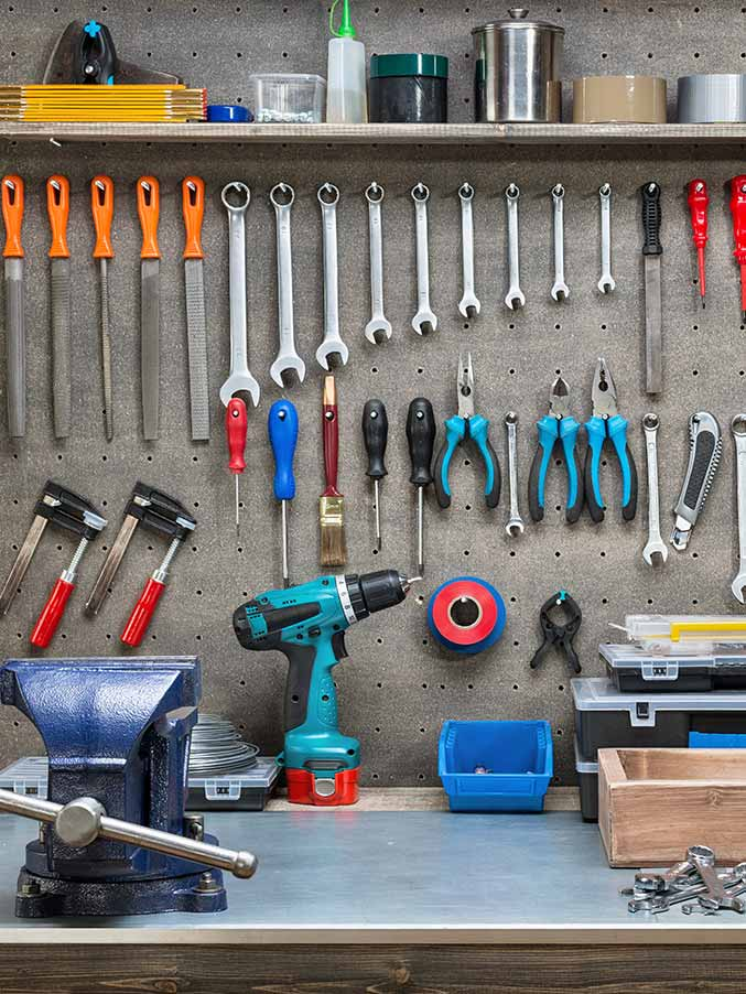 Garage Organization Storage Cabinets | Sunset Coast Construction Services, LLC